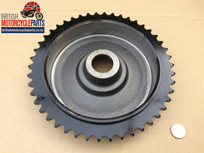 37-1040 Sprocket Brake Drum - Triumph QD 46T