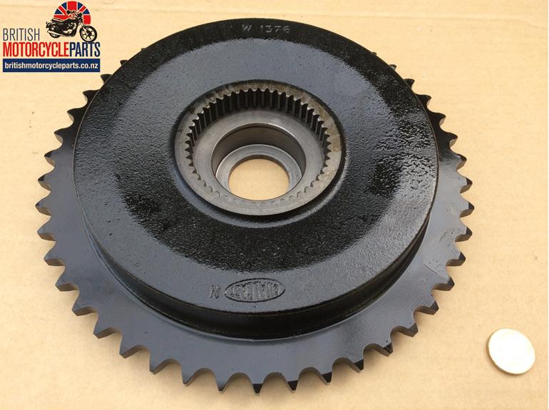 37-1040 Sprocket Brake Drum - Triumph QD 46T - British Motorcycle Parts AKL NZ