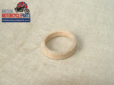37-1042 Felt Washer - Triumph QD Brake Drum