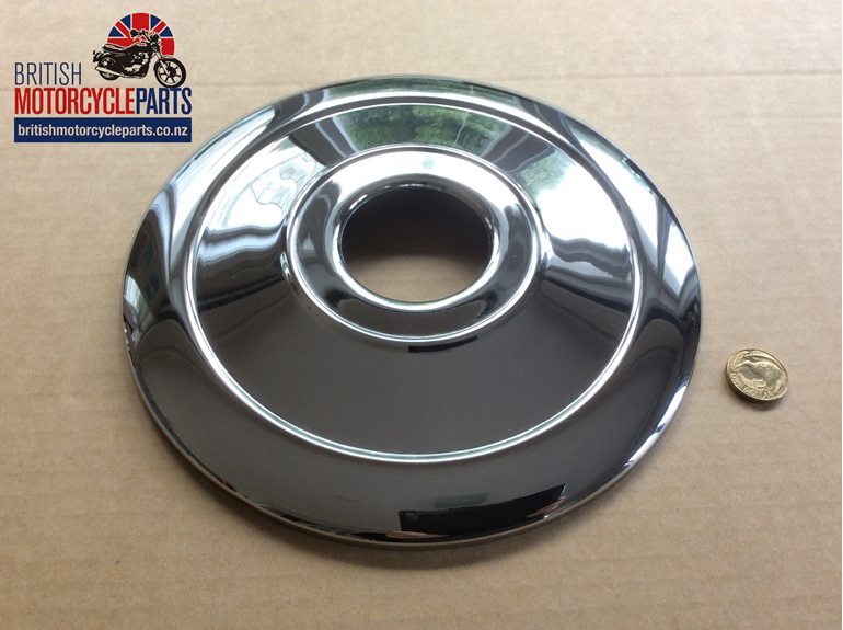 "37-1332 Front Brake Cover Plate 8"" - Triumph - British Motorcycle Parts AKL NZ"
