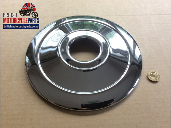 """37-1332 Front Brake Cover Plate 8"""" - Triumph - British Motorcycle Parts AKL NZ"""