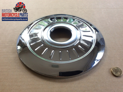 """37-1332A Cover Plate 8"""" - Fluted"""