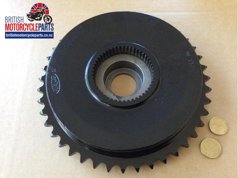 37-1376 Brake Drum Sprocket 43T - Triumph QD - British MC Parts - Auckland NZ