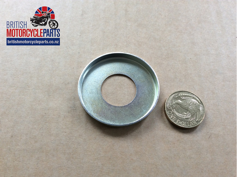 37-1481 LH Grease Retaining Cap - Triumph - British Motorcycle Parts - Auckland