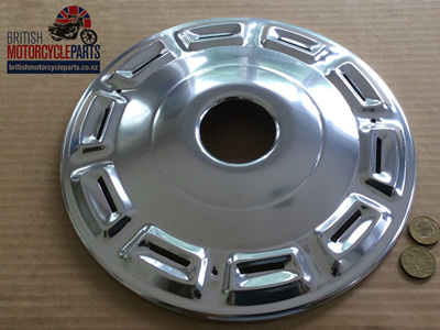 37-1992 Front Hub Cover Plate - Triumph 1968