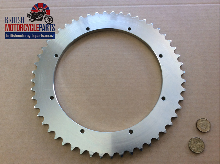 37-3411 Rear Sprocket 52T 8 Hole - BSA Triumph - British MC Parts - Auckland NZ