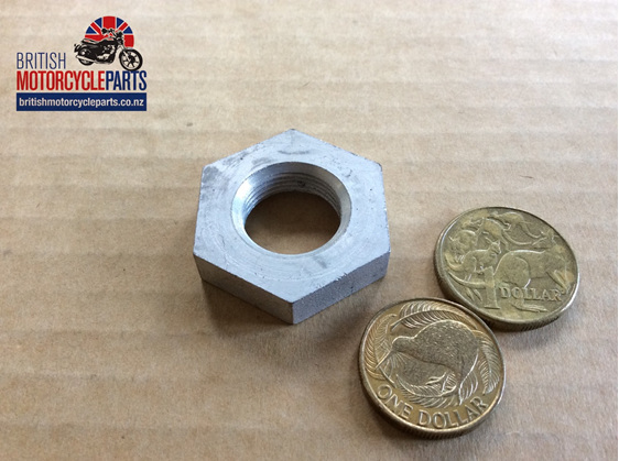 37-3426 Rear Wheel Spindle Lock Nut - Bolt On - British Motorcycle Parts NZ