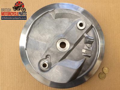 "37-3461 Brake Plate 8"" TLS - Bare - 1969-70"