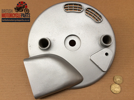37-3655 Front Brake Plate - Conical