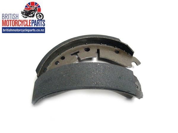 37-3713 Front Conical Hub Brake Shoes Triumph T120 T150 BSA B25 B50 A65 A75