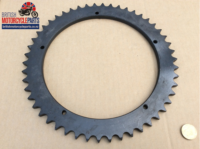 37-4046 Rear Wheel Sprocket - Conical - 50T British Motorcycle Parts Auckland NZ