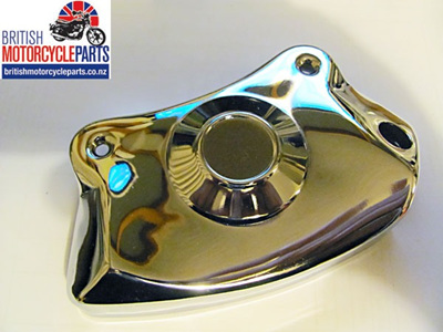 37-4263 Chrome Caliper Cover - Triumph