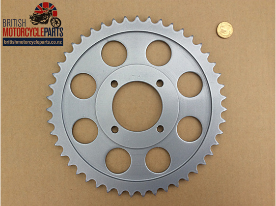 37-7016 Rear Sprocket - 47T - TR7 T140 1976-78
