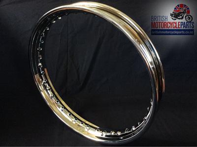"""Triumph 18"""" Rim Disc Rear - Chrome - 37-7030 37-7018"""