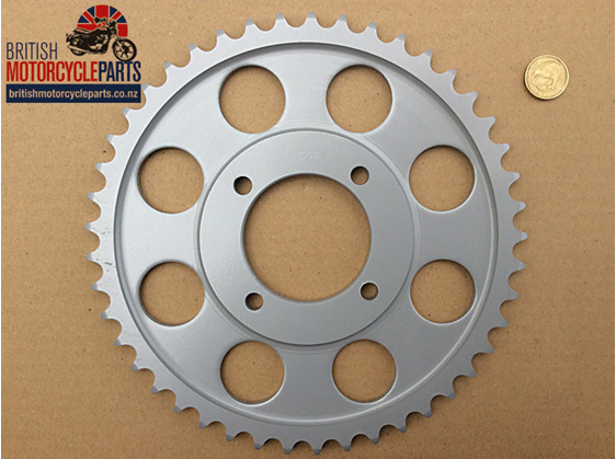 37-7044 Rear Sprocket - 45T - TR7 T140 1976-78