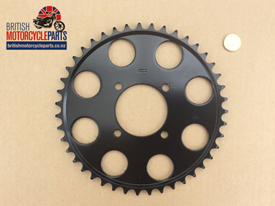 37-7064/43 Rear Sprocket 43T - TR7 T140 - 4 Hole Dis