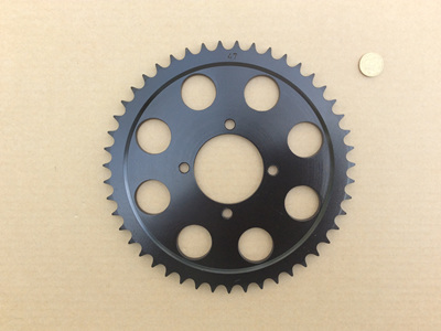 37-7064 Rear Sprocket 47T - TR7 T140 - 4 Hole Disc