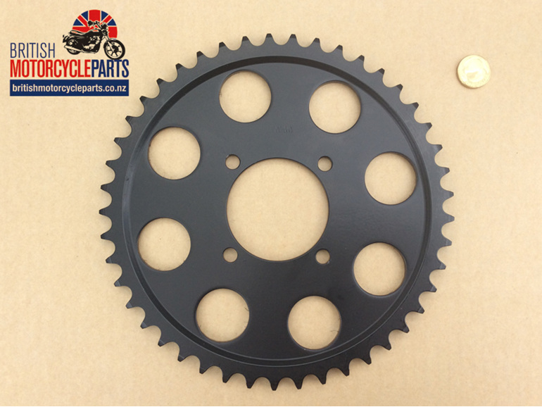 37-7072 Rear Sprocket - 45T - TR7 T140 1976-78