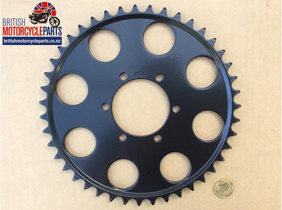 37-7089/43 Rear Sprocket - T140D 43T - British Motorcycle Parts Ltd Auckland NZ