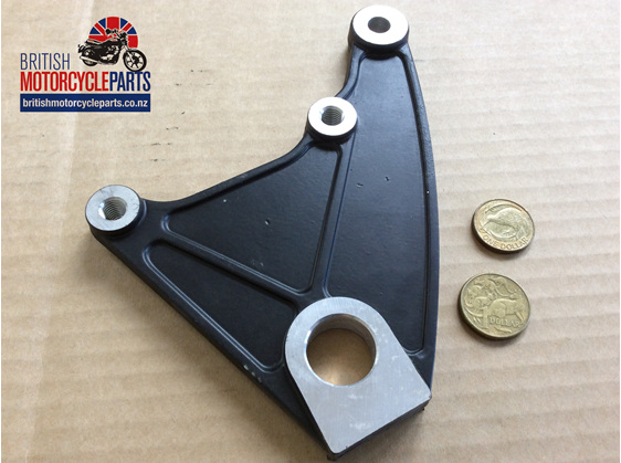 37-7124 Rear Caliper Alloy Mounting Plate - T140 1980on - British Parts Auckland