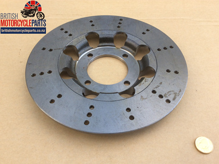 37-7175L Lightened Brake Disc - 4 Hole - Cast Iron