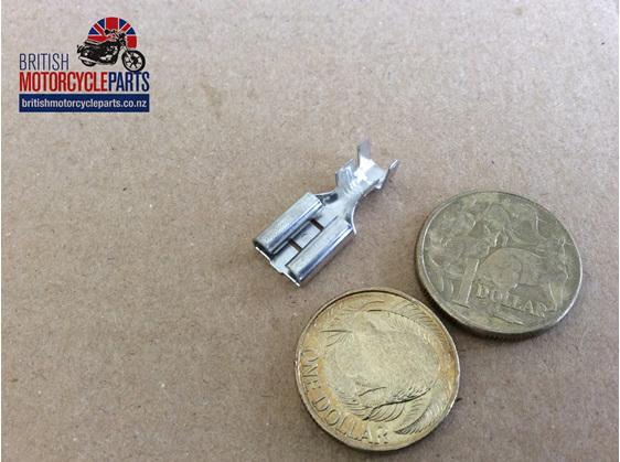 3/8 inch Female Spade Terminal - British Motorcycle Parts Ltd - Auckland NZ