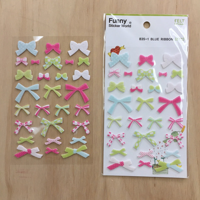 3D Bow Stickers WAS $4.90
