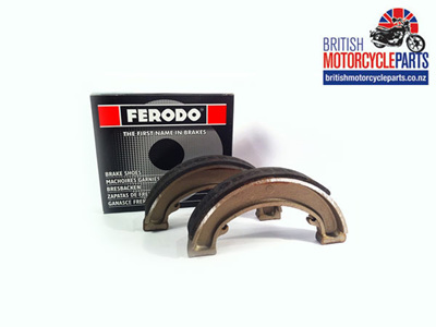 "40-5525 Brake Shoes 6"" FWH - BSA C15 B40"