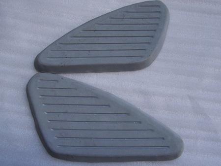 40-8012 40-8013 Kneepads Grey - BSA - PAIR