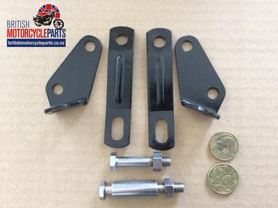 42-0051/2/3/5/6 - Head Steady Bracket Set - BSA