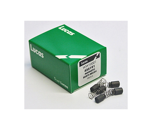 455190 455191 Lucas K2F Magneto Earth Brushes - British Motorcycle Parts Ltd NZ