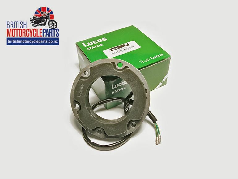 47205 Single Phase Stator 12 Volt 10 Amp 2 Wire Triumph BSA Norton