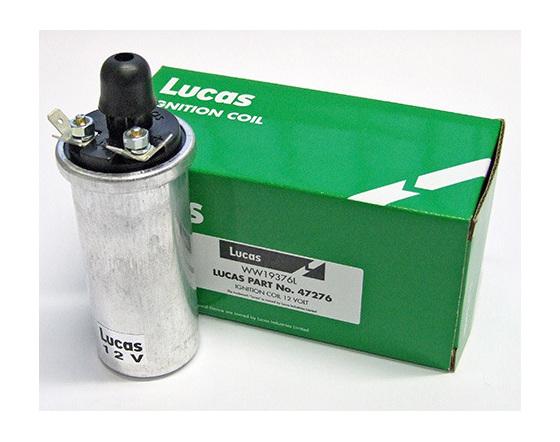47276 Lucas 12 Volt Ignition Coil PVL Type - British Motorcycle Parts Ltd