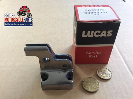 54343791 Switch Half - Clutch Lever  Perch 1971-74 - 54340883