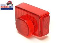 54584930A Pattern Tail Light Lens - Lucas 917 - 06-8058 99-1257