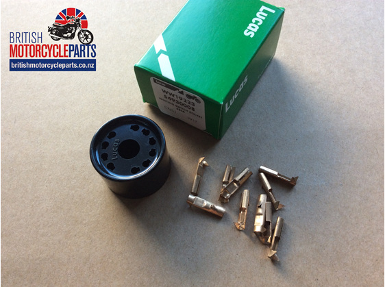 54930008 Lucas 88SA Ignition Switch Plug Socket - British Motorcycle Parts NZ