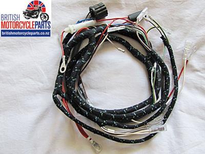 T120 TR6 T100 T90 Wiring Loom 1966