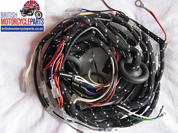 54961593 Wiring Loom / Harness - Triumph T140 Bonneville 1973-75 Models