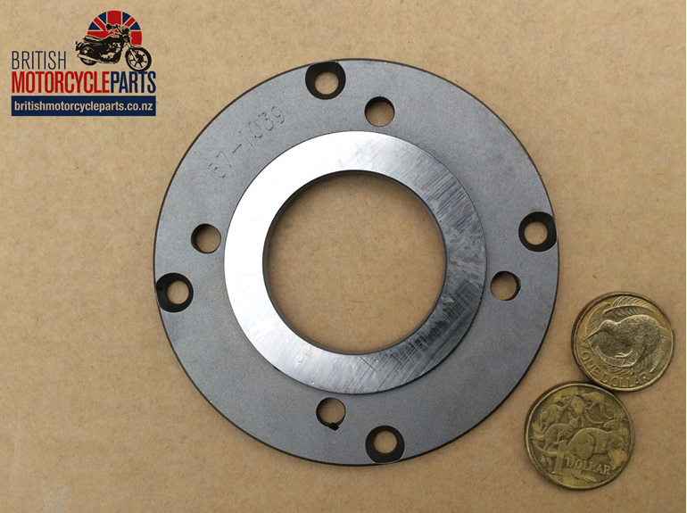 57-1039 Clutch Centre Inner Plate - 4 Spring- British Parts - Auckland NZ