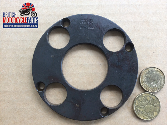 57-1044 Clutch Outer Plate - 4 Spring - British motorcycle Parts - Auckland NZ