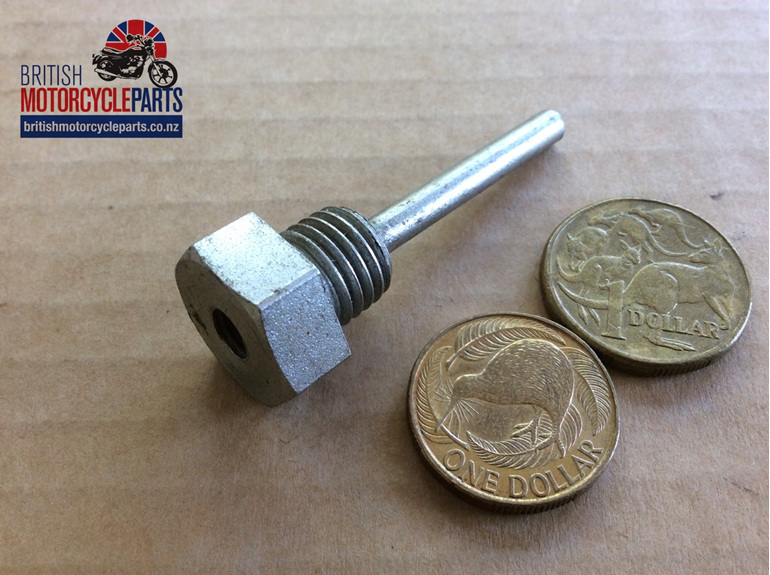 57-1112 Drain Plug with Level Tube - BSF - British Motorcycle Parts Auckland NZ