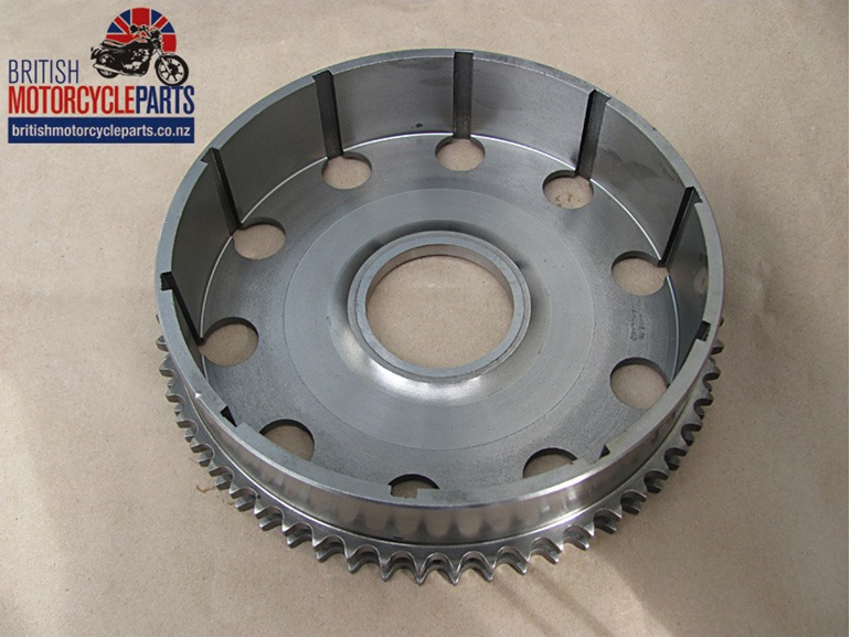57-1570 Clutch Sprocket & Housing - Triumph Duplex Clutch Chainwheel Basket - UK