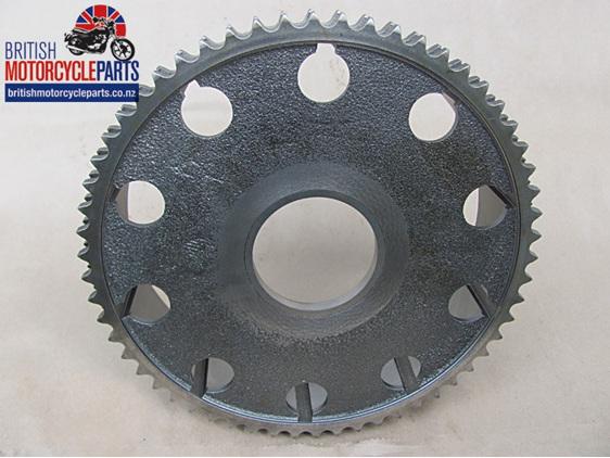 57-1570 Triumph 350cc 500cc 650cc Duplex Clutch Chainwheel - UK Made