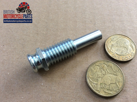 57-2220A Clutch Cable Abutment - Modified - T150 T160 A75