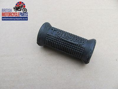 57-2330A Kickstart Rubber with Logo - Triumph - 57-1814