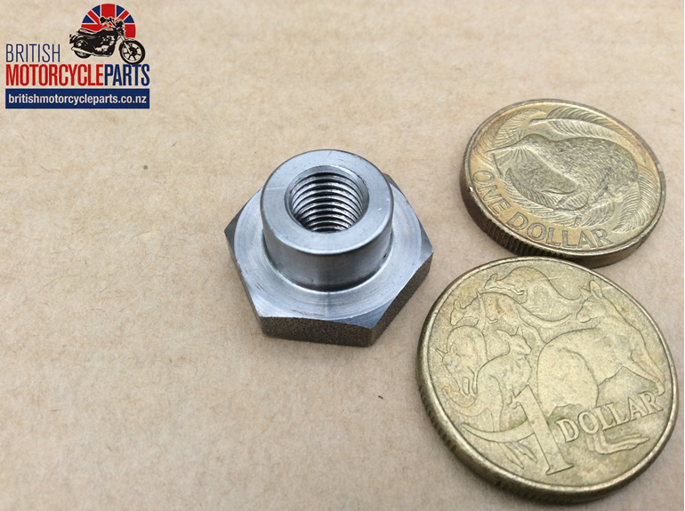 57-2553 Clutch Pullrod Nut - T150 T160 - SPECIAL - British motorcycle Parts - NZ
