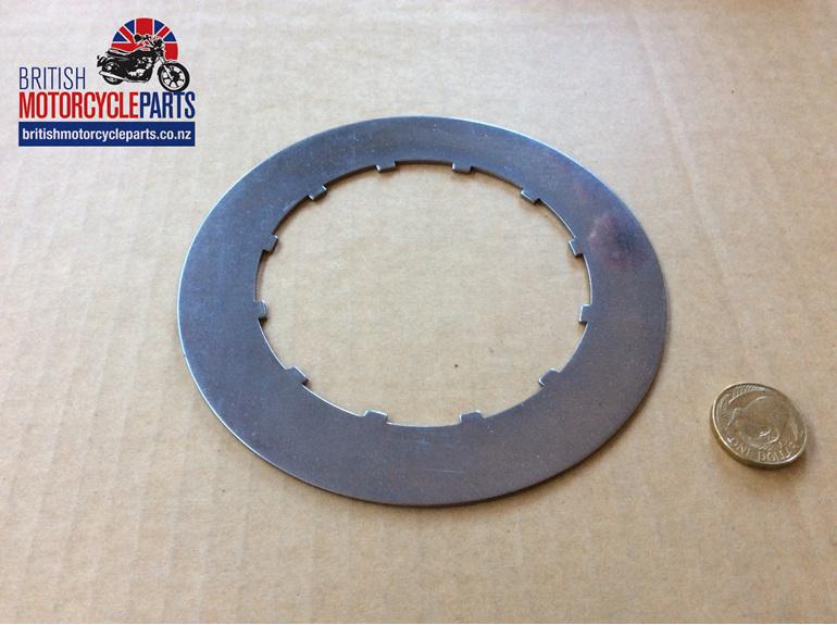 57-2725 40-3220 Steel Clutch Plate BSA/TRI Singles - British Motorcycle Parts NZ