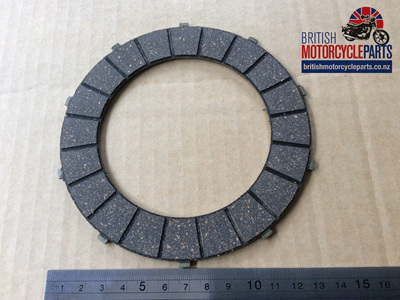 57-2726 40-3215 Clutch Friction Plate - BSA/TRI Singles