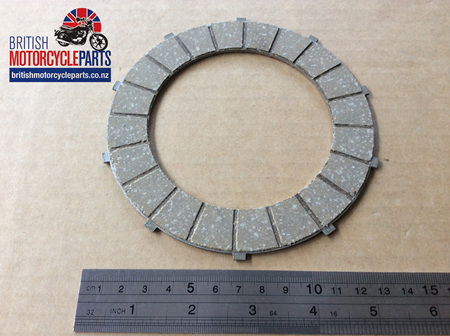 57-2726S 40-3233S Clutch Friction Plates - BSA Triumph Singles