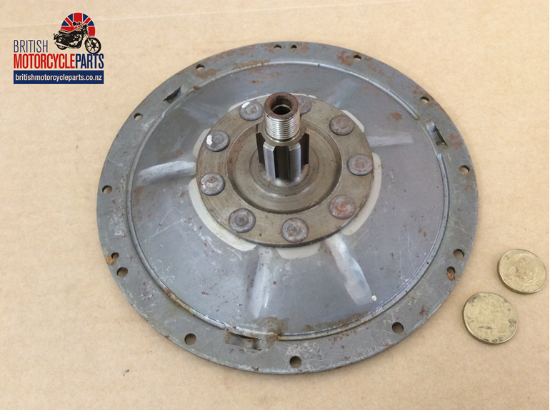 57-3705 Clutch End Cover Assembly - BSA Triumph Triples - British MC Parts NZ